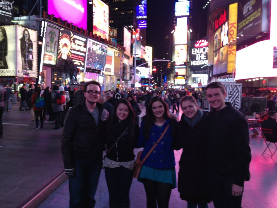 K Reunion in Times Square