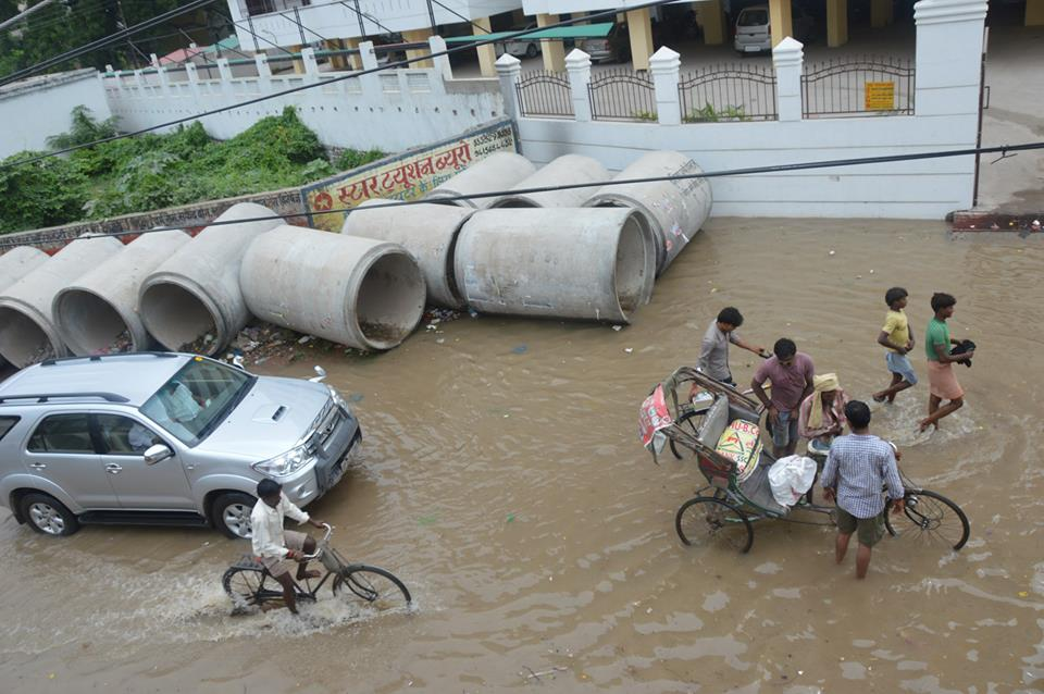 Flooding in Varanasi