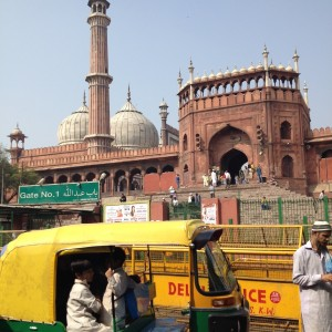 The Jama Masjid mosque