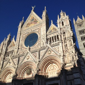 the Siena Duomo cathedral