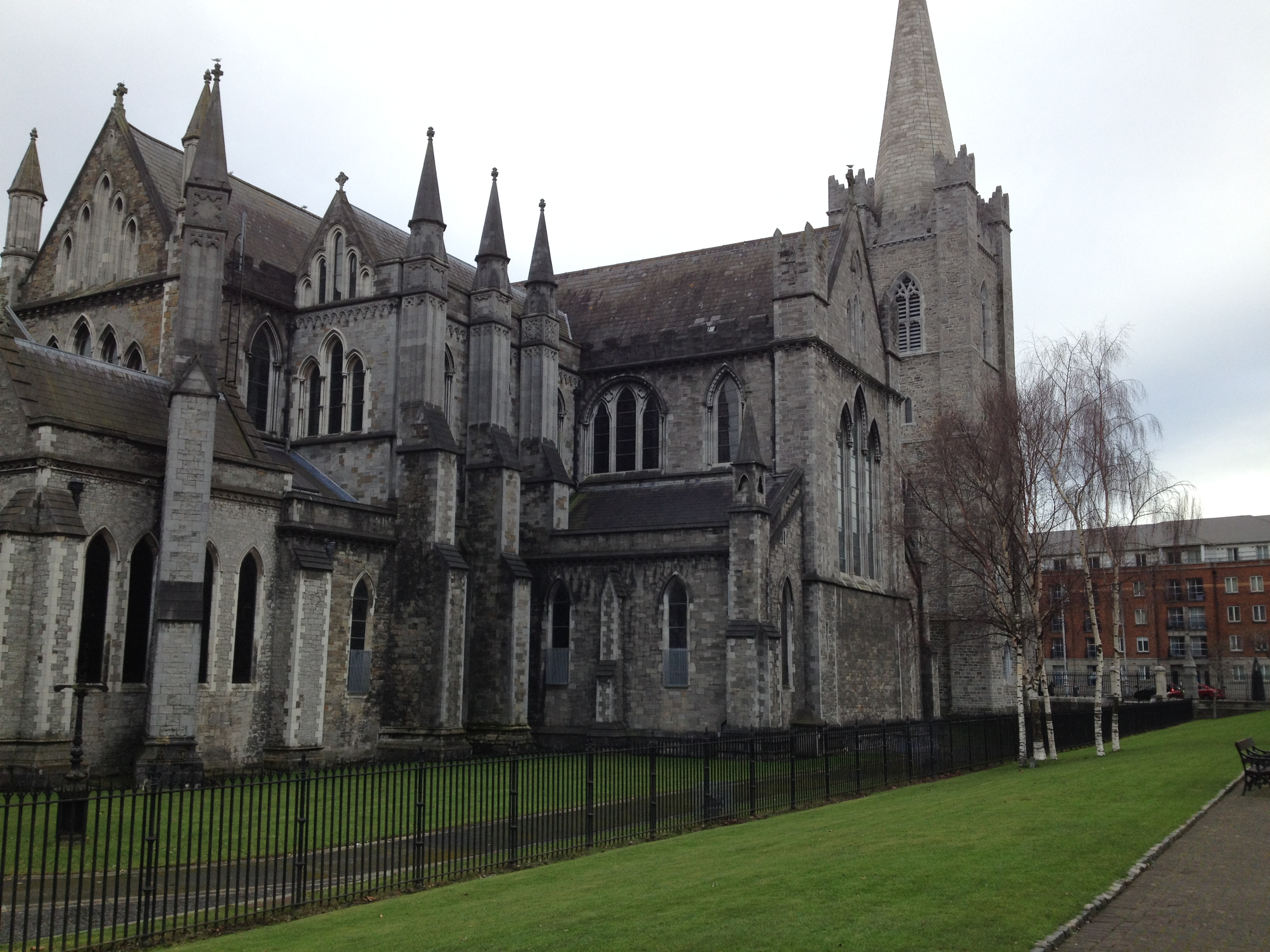 Saint Patrick''s Cathedral in Dublin, Ireland