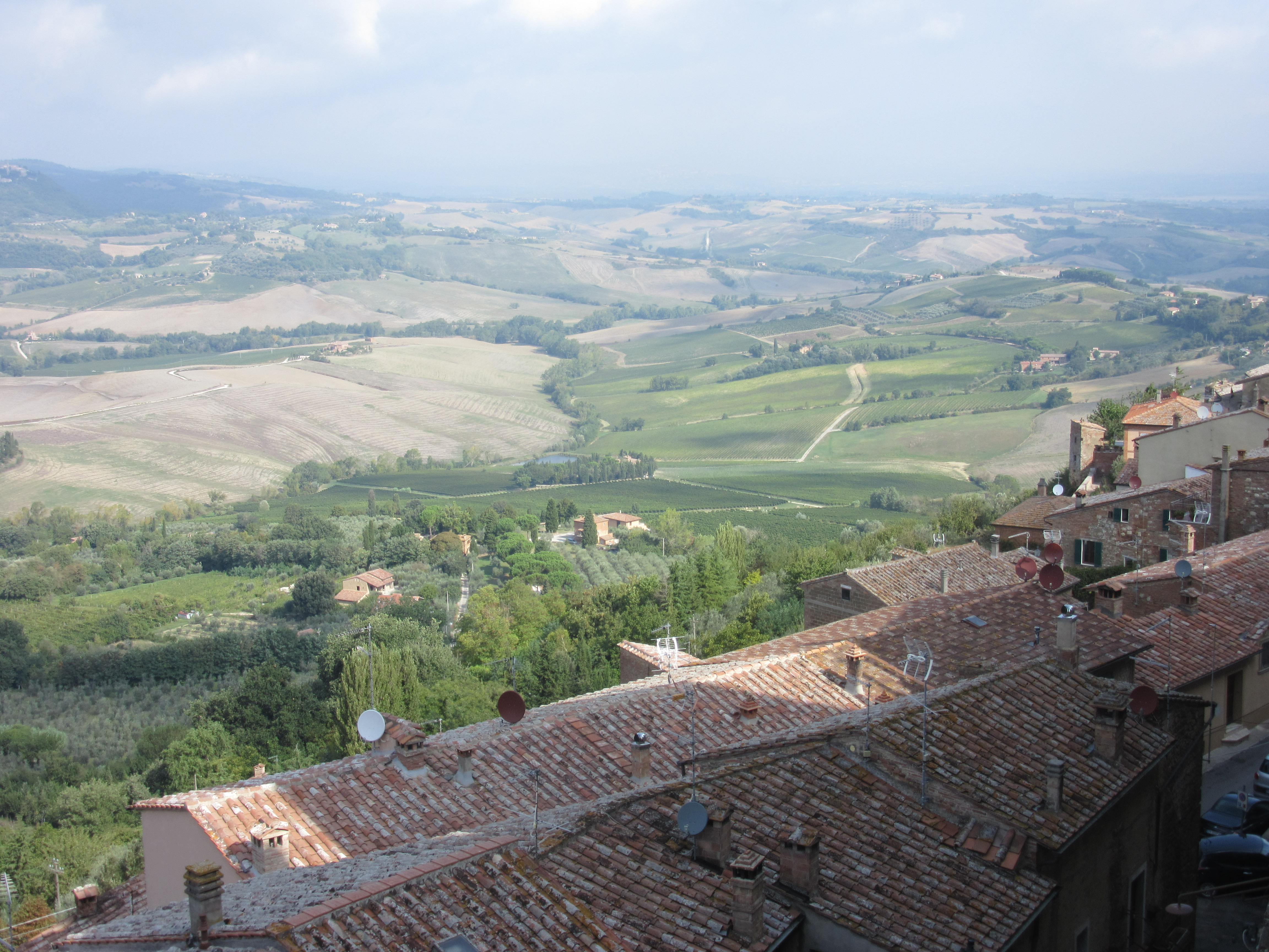 Scenic view in Tuscany