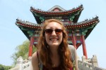 K student Amanda Johnson in China