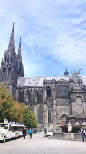 Cathedral in Clermont-Ferrand