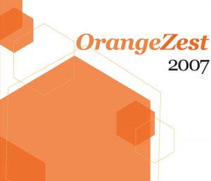 Orange Zest 2007 cover