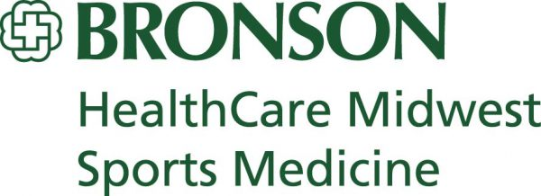 Bronson HealthCare Midwest Sports Medicine logo