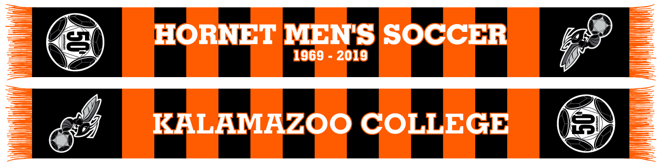 graphic of Kalamazoo College scarf