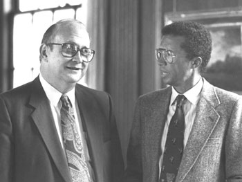 1992 : Arthur Ashe receives honorary Doctor of Humane Letters degree from Kalamazoo College