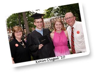 Kevin Dugal 2010 Grad