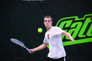 Kalamazoo College Men Tennis vs WMU - 4.19.12
