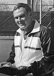 Coach George Acker