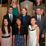 Nine Heyl Scholars in 2012