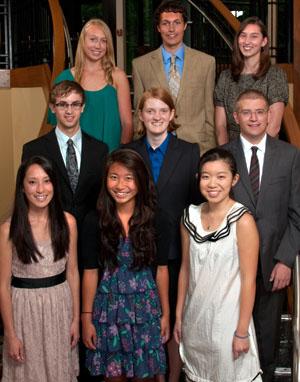 2012 Heyl Scholars