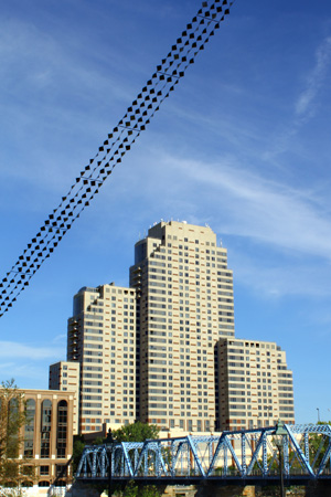 """Binary Strip"" by Daedalian Derks is part of ArtPrize 2012"