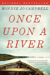 Book cover for 'Once Upon a River'