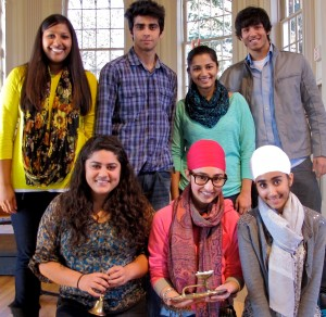 Seven students celebrate Diwali and Eid
