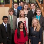 10 Heyl Scholarship winners in 2013