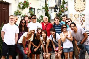 2013 Graduates on study abroad in Spain