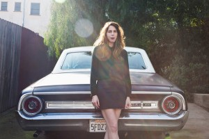Rachel Kushner with her 1964 Ford Galaxie 500