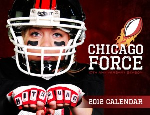 Cover of 2012 Chicago Force calendar