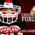 2012 calendar cover of Chicago Force