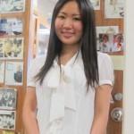 Rina Fujiwara standing near a door