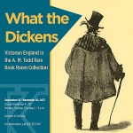 What the Dickens postcard