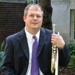 Portrait of Keith Geiman with trumpet