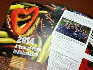 "2014 ""A Year of Food in Kalamazoo"" calendar"