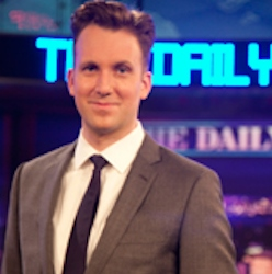 Kalamazoo College alumnus Jordan Klepper on the Daily Show