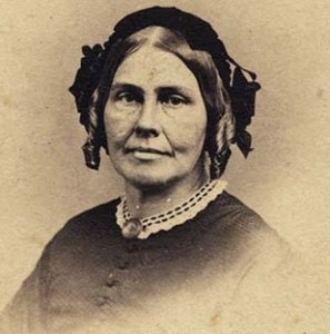 Photo of Lucinda Hinsdale Stone, courtesy of Kalamazoo College
