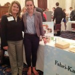 Skylar Young '15 with Fabri-Kal Marketing Manager Emily Ewing