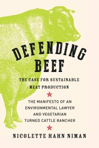 Book cover of 'Defending Beef'