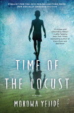 Book cover for 'Time of the Locust'