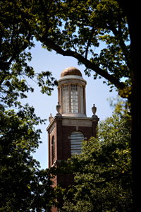 Stetson Chapel tower
