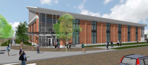 Rendering of Fitness and Wellness Center