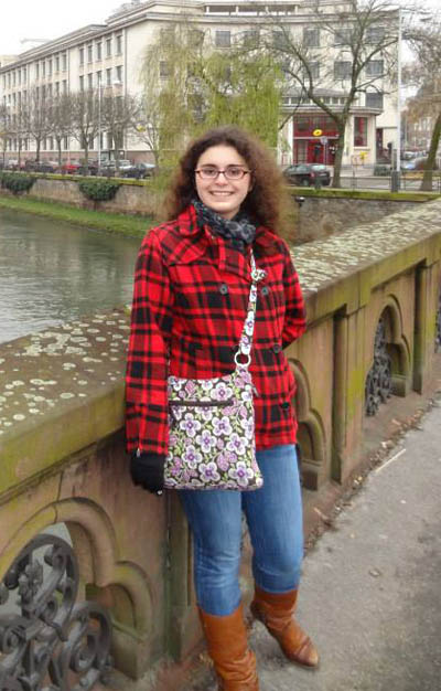 Sara Stack on study abroad in Strasbourg, France