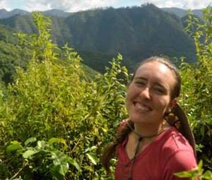 Katie Clark in Thailand