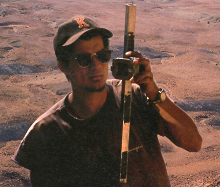 Jeff Wilson '91 in Niger