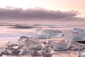 Foreign Study Ice Beach in Iceland