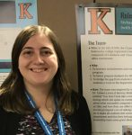 K Students Present Posters at Conference