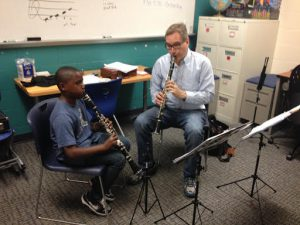 Mathematics Professor Eric Barth Conducts Kalamazoo Kids in Tune National Honors