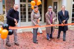 Four Administrators Conduct Ribbon-Cutting Ceremony