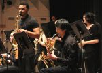 Kalamazoo College Jazz Band performs
