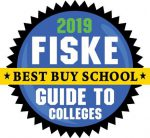 Logo says 2019 Best Buy School Fiske Guide to Colleges