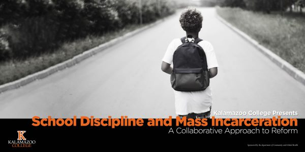 Child with Backpack Graphic for Mass Incarceration Reform