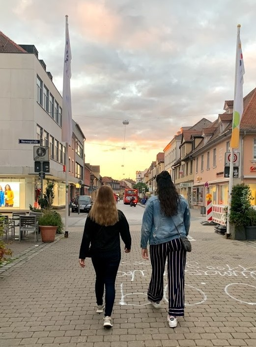 Downtown Erlangen Germany During Pandemic