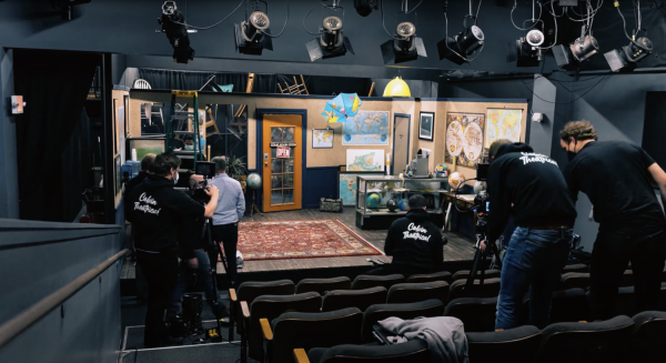 Colvin Theatrical Sets Up for Streaming a Play