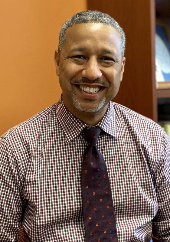 Vice President for Student Development J Malcolm Smith