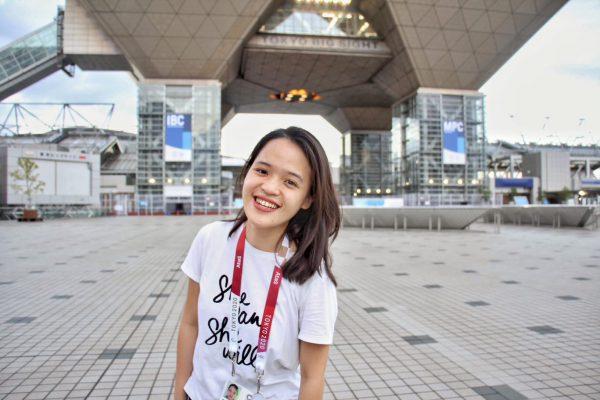 Uyen Trinh at the Olympics
